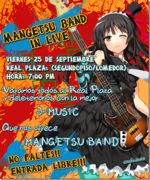 Mangetsu-band-afiche-Real-Plaza